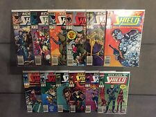 NICK FURY AGENTS OF SHIELD (1989) #1-47 + ANUAL 1 2 COMPLETE SET HIGH GRADE