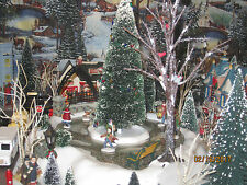 """TRAIN VILLAGE HOUSE CARNIVAL """"VERY LARGE ANIMATED CITY PARK"""" +DEPT 56/LEMAX info"""
