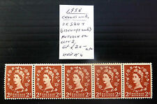 GB 1958 Wilding 2d Retouch As Described U/M MNH FP5949