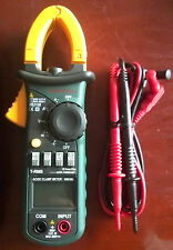 Ture RMS INRUSH Clamp Meter 6600 AC DC Current Voltage Ohm Cap. Frequency MS2108