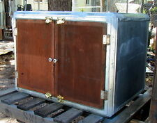 Table-top Faraday cage screen room shielded test box w/copper screen double door