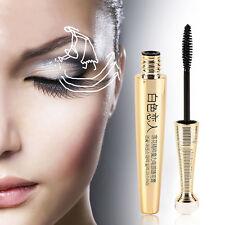 Maquillage Imperméable Noir EFU Lotus 3D Mascara Fiber Eyelash Extension Length