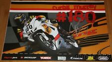 2014 Curtis Murray signed TOBC Racing Suzuki GSX-R600 Supersport AMA poster
