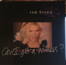 "Sam Brown Can I Get A Witness 12"" Vinyl Vgc"