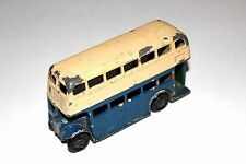 Dinky Toys Post War Type 1 Grill 2 Tone Double Decker Bus # 29C R/P !!