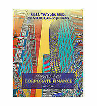 Essentials of Corporate Finance by Ron Bird, Stephen Ross, Rowan Trayler (Paper…