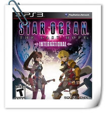 PS3 Star Ocean The Last Hope International SONY Square Enix RPG Game
