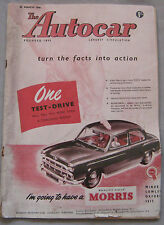 Autocar 23/3/1956 featuring Plymouth Savoy saloon road test