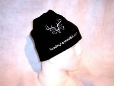 READING FARMS USA BLACK Stocking watch skull ski cap hat beanie Archery HUNTING