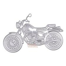 Motorcycle Metal Cutting Dies Stencils DIY Scrapbooking Album Paper Card Crafts