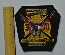 Ellsworth Somerset Fire  Rescue  US Patch