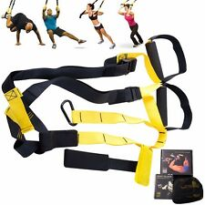 Suspension Exercise Gym Training Straps Set Yoga Body Fitness Workout Stretch