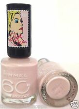 Rimmel 60 Seconds Nail Color Polish by Rita Ora # 203 LOSE YOUR LINGERIE LMTD ED