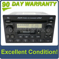 HONDA Accord Civic CR-V CRV Odyssey 6 Disc Changer CD Player Radio Stereo OEM