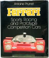 FERRARI SPORTS RACING AND PROTOTYPE COMPETITION CARS ANTOINE PRUNET CAR BOOK