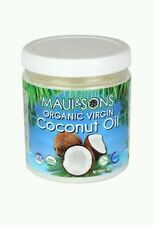 Maui and Sons Organic Virgin Coconut Oil 118.2 ml 4 oz sealed new NON-GMO