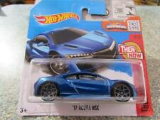 Hot Wheels 2016 #108/250 2017 ACURA NSX blue Then and Now Case H New Casting