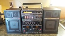 Sony FH-11W Compact Hi-Density Component AM-FM Stereo Tape System Ghetto Blaster