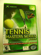 Tennis Masters Series 2003 (Xbox) BRAND NEW FACTORY SEALED