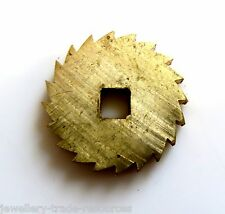 15mm REPLACEMENT BRASS CLOCK WINDING RATCHET WHEEL SPARES REPAIRS PARTS