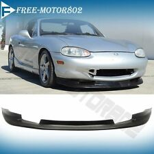 Fit For 1999-2000 Mazda Miata MX-5 GV Style Coupe Front Bumper Lip Spoiler Chin