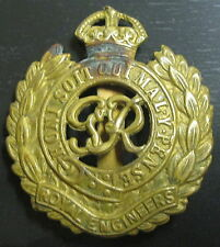 ROYAUME-UNI - Insigne de casquette  ROYAL ENGINEERS - WWII