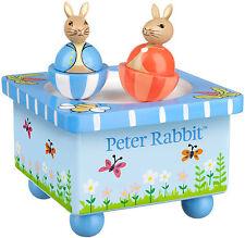 Orange Tree Jouets Peter Rabbit boîte à musique Bébé / Bambin / Enfant Jouets en bois BN