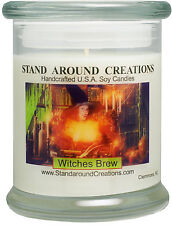Premium 100% Soy Candle - 12 oz. Status Jar - Witches Brew