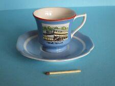 Made in Czechoslowakia alte Mokka Espresso Tasse Teller Untertasse