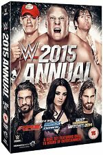 WWE (Wrestling) 2015 ANNUAL BOX 6 DVD in Inglese NEW .cp