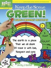 BOOST Keep the Scene Green! : Earth-Friendly Activities and Coloring Book