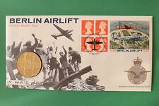 1999 50th Anniversary Berlin Airlift Cover & Medallion SNo44097