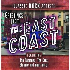 GREETINGS FROM THE EAST COAST  CD NEU  RAMONES/TODD RUNDGREN/BLONDIE/+
