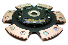 FX STAGE 3 SPRUNG 6PUCK CLUTCH DISC JDM 1988-91 HONDA CIVIC EF9 CRX EF8 SiR B16A