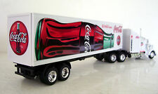 KENWORTH W900 Semi Tractor/Trailer Trucks Diecast 1:43 Coka Cola Custom Graphics