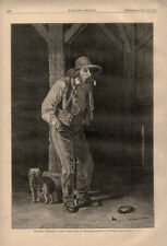 Southern Sketches - A Poor White - A Gentleman of Color - Black Americana - 1875