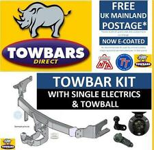 Nissan Micra Hatchback (K12) 2003 to 2010 inc Convertible Flange Towbar Tow Bar
