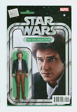 Star Wars Han Solo # 1 NM Bespin Outfit JTC Exclusive Action Figure Variant