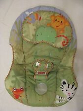 Fisher Price Baby Rainforest Swing Rocker Seat Cover Replacement Pad Cushion