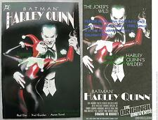 BATMAN HARLEY QUINN ONE-SHOT Alex Ross JOKER Excellent HTF 3rd Print + BONUS