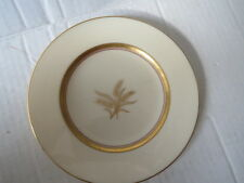 "Lenox WESTFIELD China Wheat 6.25"" PLATE Gold on Ivory R-440 Made in USA VGUC"
