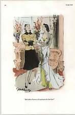 Anni'30 Risque cartoni animati Gilbert Bundy sposarsi per amore SIMMS Campbell mai più bambini