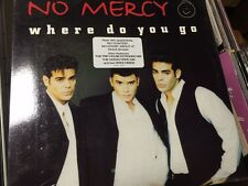 """NO MERCY WHERE DO YOU GO OOP NEW 12"""" SEALED"""