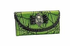 Frankenstein Lace Green Horror Halloween Rockabilly Rocker Punk Goth Wallet
