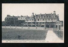 France LE-TOUQUET-PARIS-PLAGE Golf Hotel LL Louis Levy c1900/10s? PPC sport