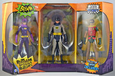 Batman Classic TV Series: 1966 BATMAN, ROBIN & BATGIRL Action Figure 3 Pack
