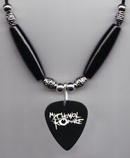 My Chemical Romance Logo Guitar Pick Necklace MCR