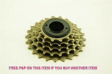 5 SPEED BIKE 14/24 NON INDEX FREEWHEEL COG ( CASSETTE FOR THREADED HUBS)