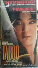 Taboo (VHS, Widescreen) 1999 Japanese gay-themed period drama; English subtitles