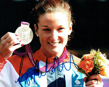 Lizzie ARMITSTEAD Autograph Signed Photo AFTAL COA OLYMPIC Gold Medal Winner